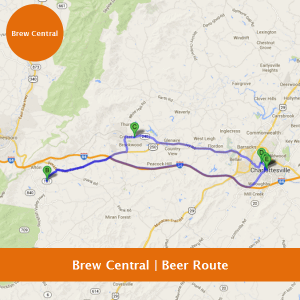 Brew Central - Charlottesville Beer Route