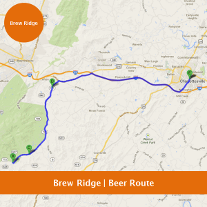 Brew Ridge - Charlottesville Beer Route