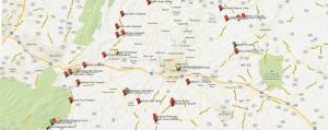 Charlottesville Winery & Brewery map