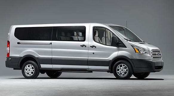 Large Van For 11 or 14 Passengers