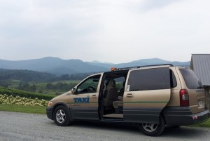 Value Wine Tour vehicle