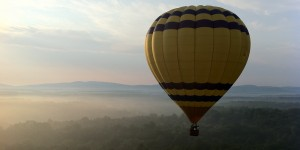 Hot Air Balloon over Charlottesville