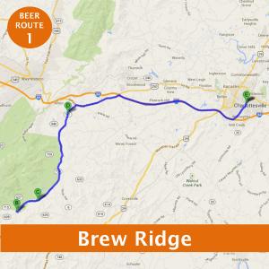 Charlottesville beer tour 1