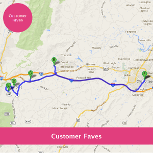 Customer Faves - Charlottesville Wine Route