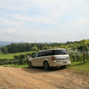 Charlottesville Wine Tours - Ford Flex