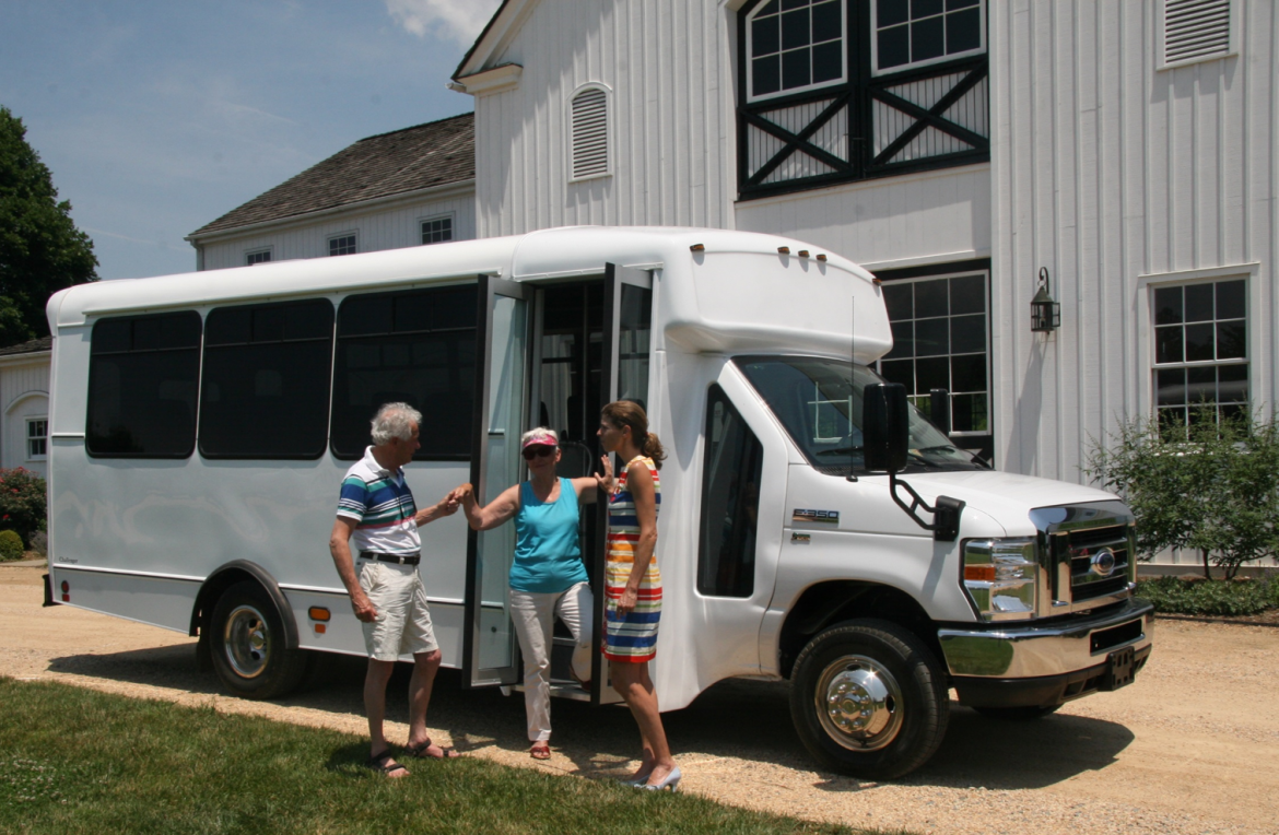 Hop-on the mini bus to tour Charlottesville's wineries