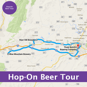 Hop-On Charlottesville Beer Tours