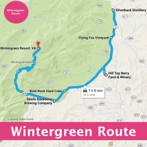 Wintergreen Wine, Beer and Spirits Route