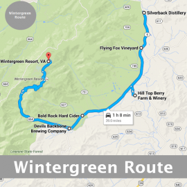 Explore Route 151 from Wintergreen Resort or Charlottesville