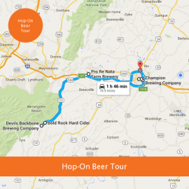 Saturday Hop-On Beer Tour